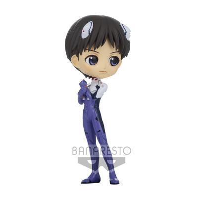 Figura Shinji Ikari Plugsuit Style New Theatrical Edition Evangelion Q posket Ver.B 14cm - Imagen 1