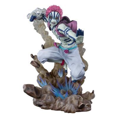 Estatua Figuarts Zero Azaka Upper Three Demon Slayer Kimetsu No Yaiba 18cm - Imagen 1