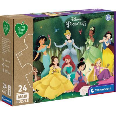 Puzzle Maxi Princesas Disney 24pzs - Imagen 1