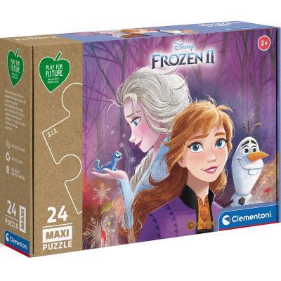 Puzzle Maxi Frozen 2 Disney 24pzs - Imagen 1