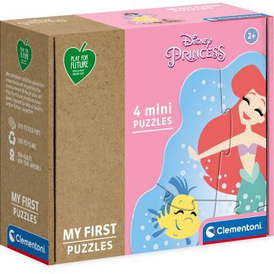 Puzzle Princesas Disney 3+6+9+12pzs - Imagen 1