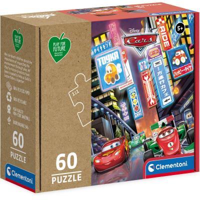 Puzzle Cars Disney Pixar 60pzs - Imagen 1