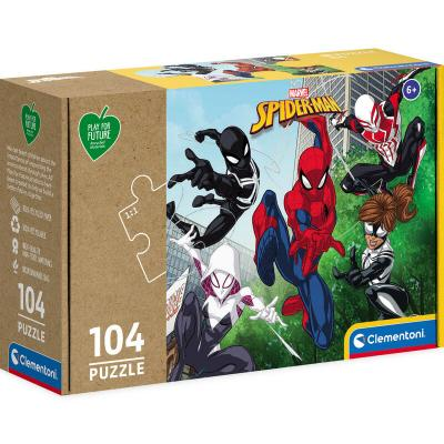 Puzzle Spiderman Marvel 104pzs - Imagen 1