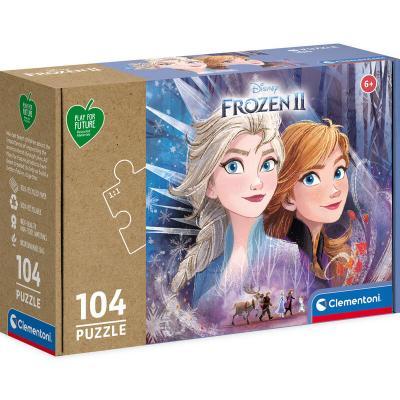 Puzzle Frozen 2 Disney 104pzs - Imagen 1