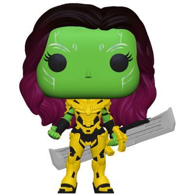 Figura POP Marvel What If Gamora w/Blade of Thanos - Imagen 1