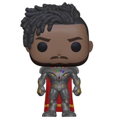 Figura POP Marvel What If Infinity Killmonger - Imagen 1