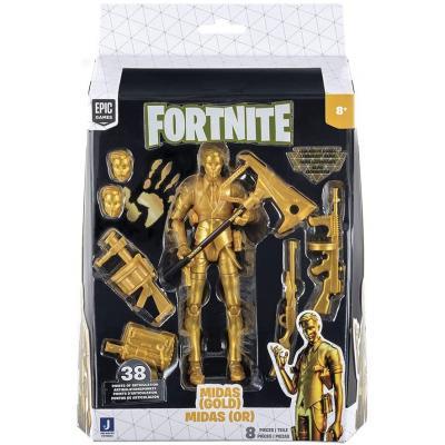 Figura Midas Gold Legendary Series Fortnite 15cm - Imagen 1