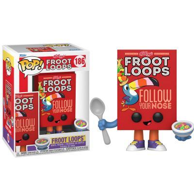 Figura POP Kelloggs Froot Loops Cereal Box - Imagen 1
