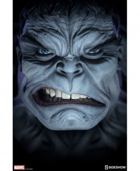 Grey Hulk Bust life size
