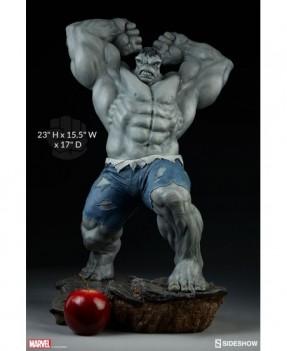 Hulk Grey quarter scale statue